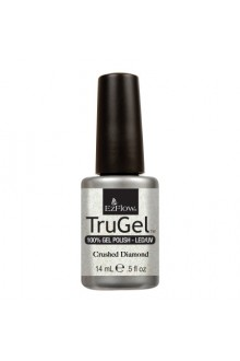 EzFlow TruGel LED/UV Gel Polish - Crushed Diamond - 0.5oz / 14ml