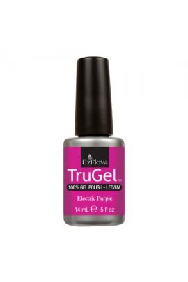 EzFlow TruGel LED/UV Gel Polish - Electric Purple - 0.5oz / 14ml