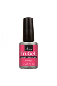 EzFlow TruGel LED/UV Gel Polish - Flamingo - 0.5oz / 14ml
