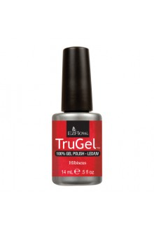 EzFlow TruGel LED/UV Gel Polish - Hibiscus - 0.5oz / 14ml