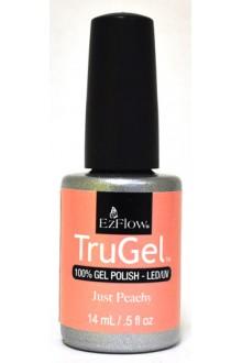EzFlow TruGel LED/UV Gel Polish - Just Peachy - 0.5oz / 14ml