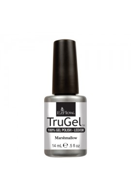 EzFlow TruGel LED/UV Gel Polish - Marshmallow - 0.5oz / 14ml