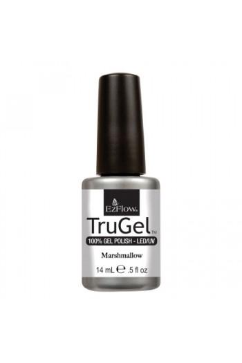EzFlow TruGel LED/UV Gel Polish - Marshmallow - 0.5oz / 14ml