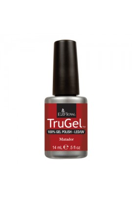 EzFlow TruGel LED/UV Gel Polish - Matador - 0.5oz / 14ml