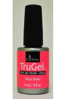 EzFlow TruGel LED/UV Gel Polish - Maui Babe - 0.5oz / 14ml