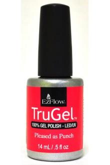 EzFlow TruGel LED/UV Gel Polish - Pleased as Punch - 0.5oz / 14ml