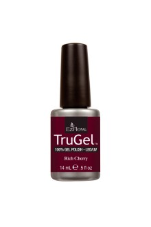 EzFlow TruGel LED/UV Gel Polish - Rich Cherry - 0.5oz / 14ml