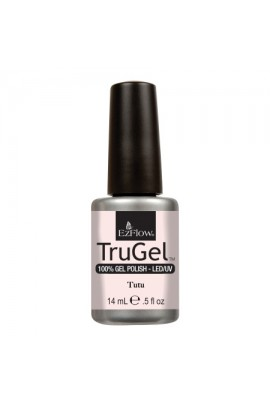 EzFlow TruGel LED/UV Gel Polish - Tutu - 0.5oz / 14ml