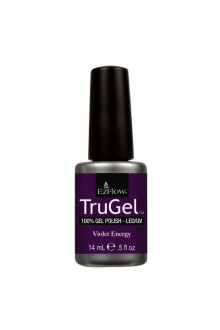 EzFlow TruGel LED/UV Gel Polish - Violet Energy - 0.5oz / 14ml