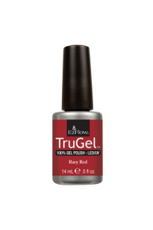 EzFlow TruGel LED/UV Gel Polish - Racy Red - 0.5oz / 14ml
