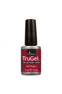 EzFlow TruGel LED/UV Gel Polish - Red Dragon - 0.5oz / 14ml