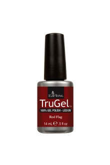 EzFlow TruGel LED/UV Gel Polish - Red Flag - 0.5oz / 14ml