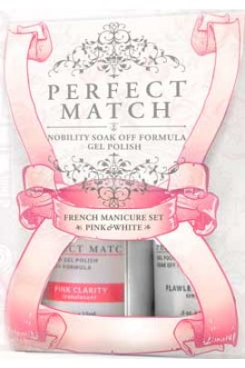 LeChat Perfect Match French Manicure Pink & White Set