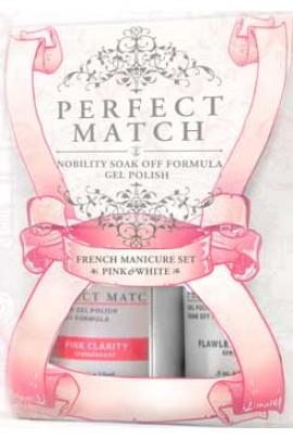 LeChat Perfect Match French Manicure Pink & White Set