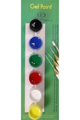 Light Elegance Gel Paints Kit