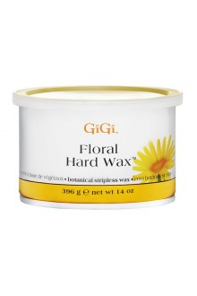 GiGi Floral Hard Wax - 14oz / 396g