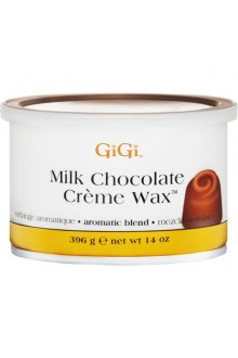 GiGi Milk Chocolate Creme Wax - 14oz / 396g