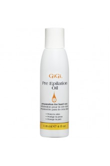 GiGi Pre Epilation Oil - 4oz / 118ml