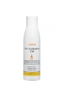 GiGi Pre Epilation Oil - 4oz / 118ml