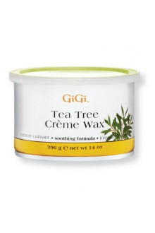 GiGi Tea Tree Creme Wax - 14oz