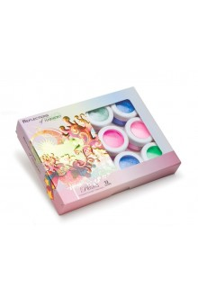 Nail Harmony Reflection Colored Powder - Prisms Collection - Holographic Film