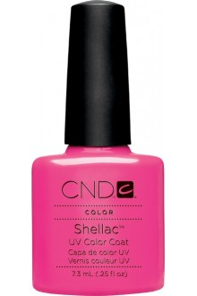 CND Shellac Power Polish - Garden Muse Collection Summer 2015 - Hot Pop Pink - 0.25oz / 7.3ml
