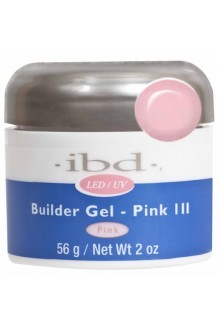 ibd LED/UV Builder Gel - Pink III - 2oz / 56g