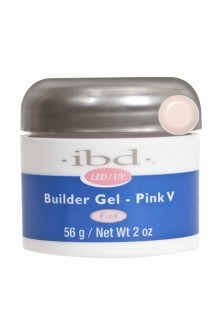 ibd LED/UV Builder Gel - Pink V - 2oz / 56g