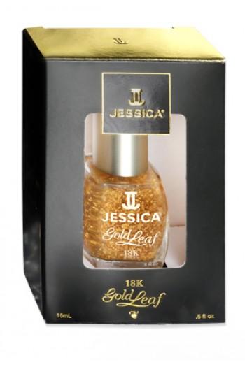 Jessica Nail Polish - Top Coat - 18K Gold Leaf