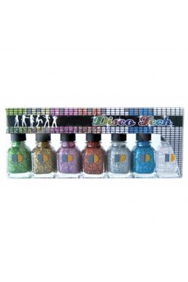LeChat Disco Tech Glitter Collection - 7 pcs