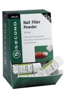 ibd 5 Second Nail Filler Powder - 12 Pack Display