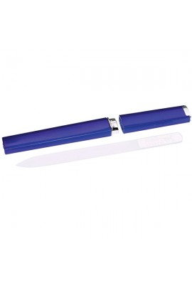 Nail Tek Crystal File with Cobalt Blue Companion Case - 5""