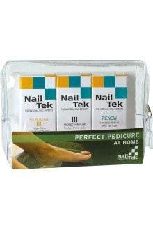 Nail Tek Perfect Pedicure - Foundation III, Intensive III, Renew - 3pk