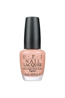 OPI Nail Lacquer - Dulce de Leche - 0.5oz / 15ml