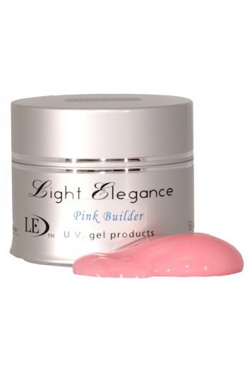 Light Elegance Uv Gel Pink Builder 1 1oz 30ml