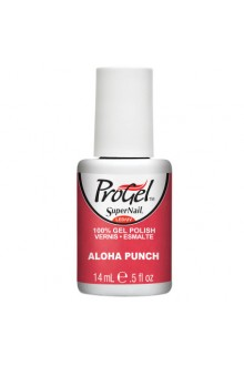 SuperNail ProGel Polish - Aloha Punch - 0.5oz / 14ml