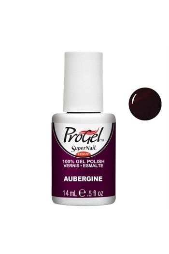 SuperNail ProGel Polish - Aubergine - 0.5oz / 14ml