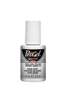 SuperNail ProGel Polish - Base Coat - 0.5oz / 14ml