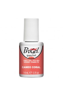SuperNail ProGel Polish - Cameo Coral - 0.5oz / 14ml