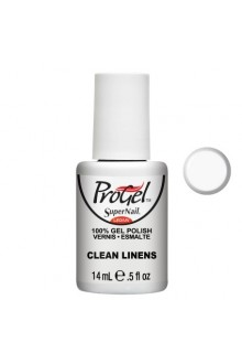 SuperNail ProGel Polish - Clean Linens - 0.5oz / 14ml
