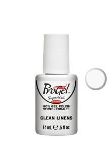 SuperNail ProGel Polish - Clean Linens - 0.5oz / 14ml