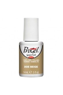 SuperNail ProGel Polish - Doe Beige - 0.5oz / 14ml