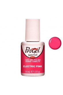 SuperNail ProGel Polish - Electric Pink - 0.5oz / 14ml