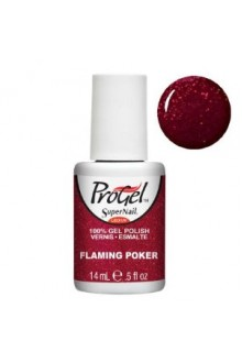 SuperNail ProGel Polish - Flaming Poker - 0.5oz / 14ml