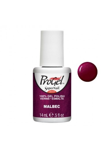 SuperNail ProGel Polish - Malbec - 0.5oz / 14ml