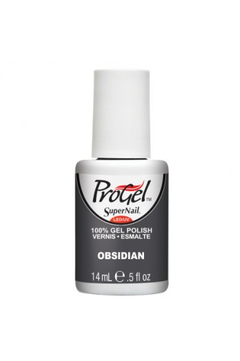 SuperNail ProGel Polish - Obsidian - 0.5oz / 14ml