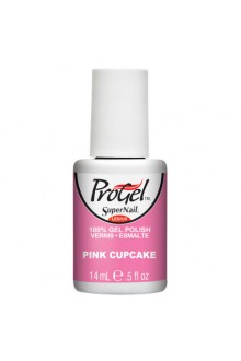 SuperNail ProGel Polish - Pink Cupcake - 0.5oz / 14ml