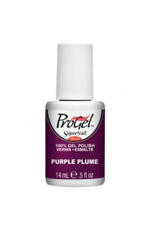 SuperNail ProGel Polish - Purple Plume - 0.5oz / 14ml