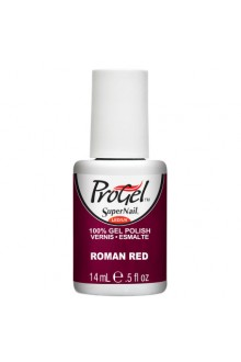 SuperNail ProGel Polish - Roman Red - 0.5oz / 14ml