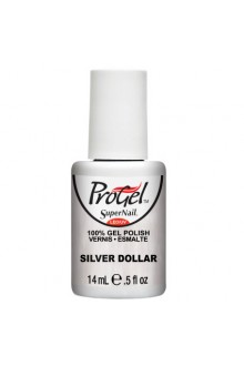 SuperNail ProGel Polish - Silver Dollar - 0.5oz / 14ml